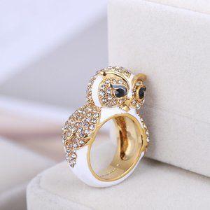 Kate Spade Wild Diamond Owl Ring